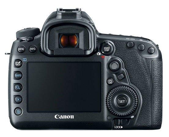Canon EOS 5D Mark IV Back