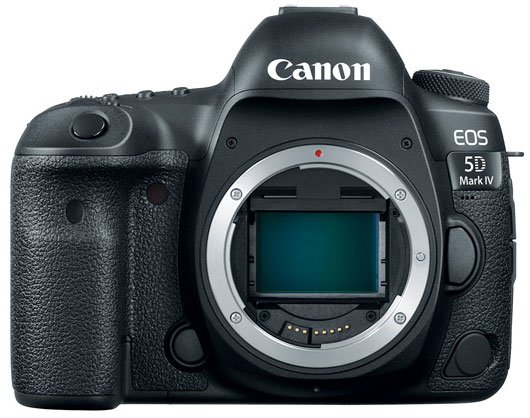 Canon EOS 5D Mark IV Front
