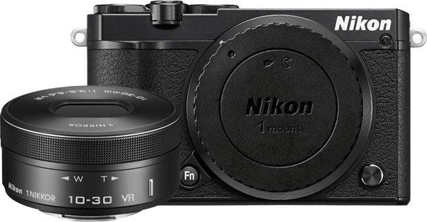 Nikon 1 J5 with Detached Lens