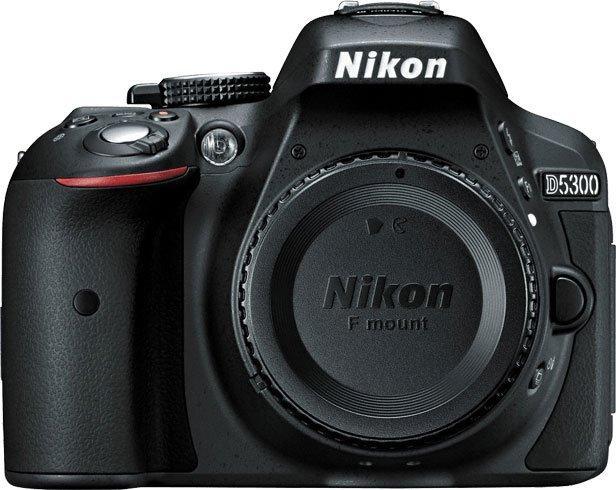 Nikon D5300 Front Capped Lens