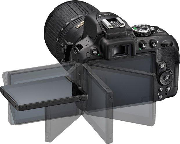 Nikon D5300 LCD