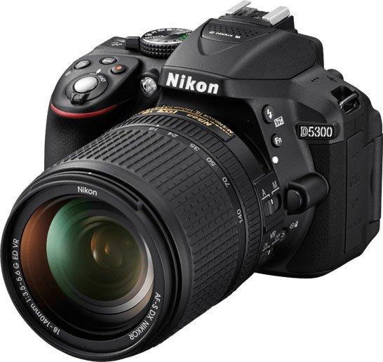 Nikon D5300 Left