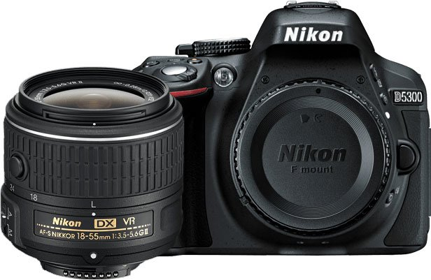 Nikon D5300 with Small Lens