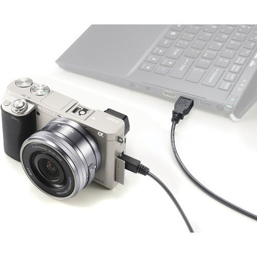 Sony a6000 Silver Connected to PC
