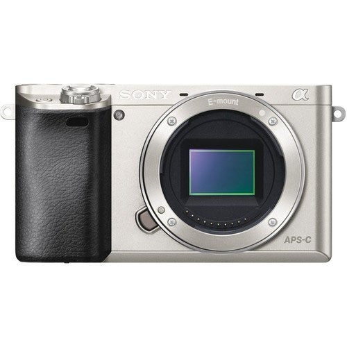 Sony a6000 Silver Front