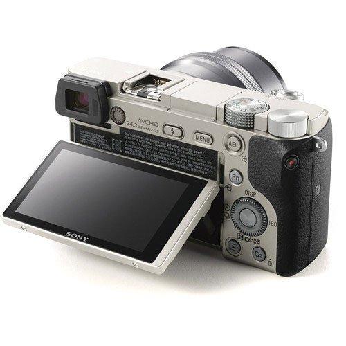 Sony a6000 Silver Screen
