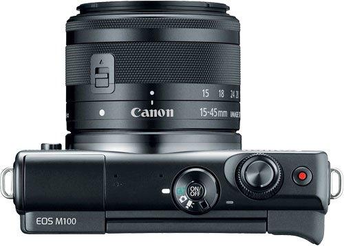 Canon EOS M100 Top