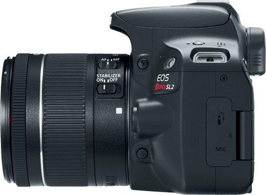 Canon EOS Rebel SL2 Left