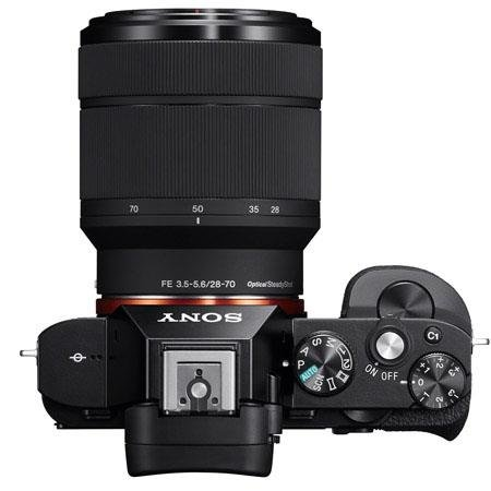 Sony a7 Top