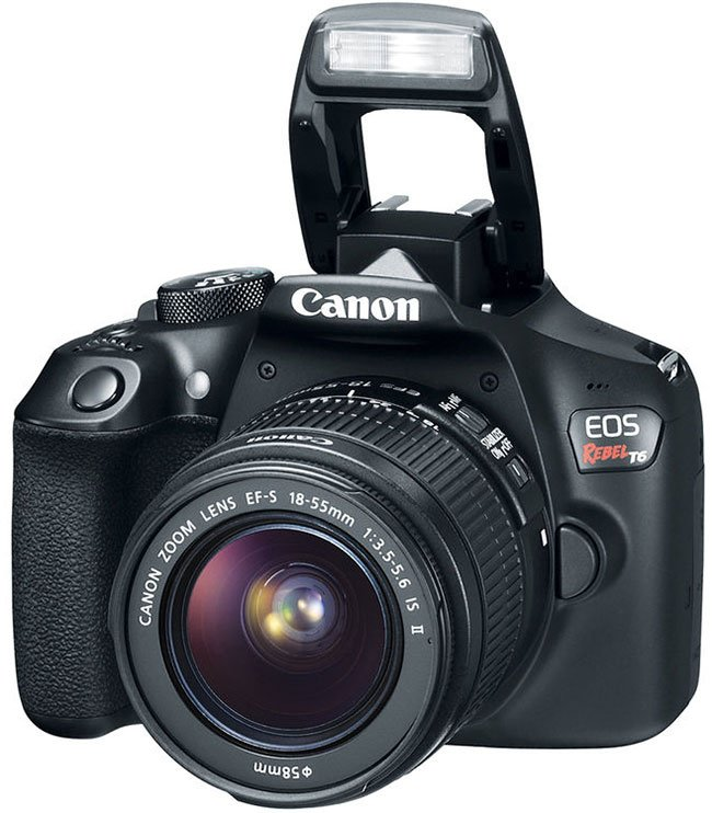 Canon EOS Rebel T6 Flash