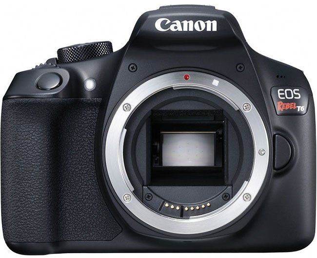 Canon EOS Rebel T6 No Lens