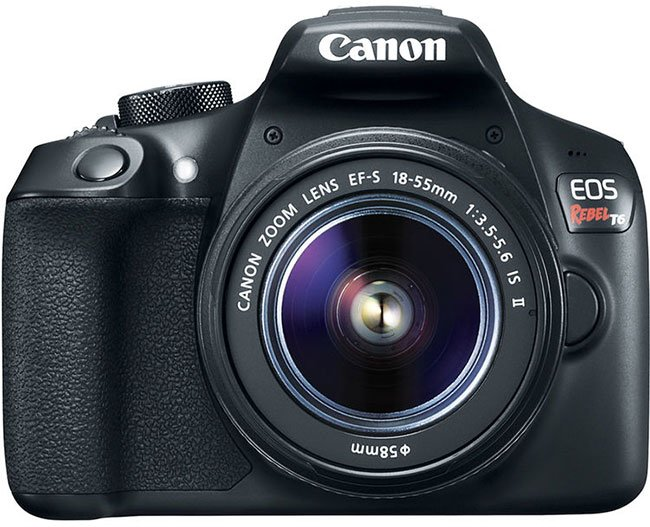 Canon EOS Rebel T6 Front