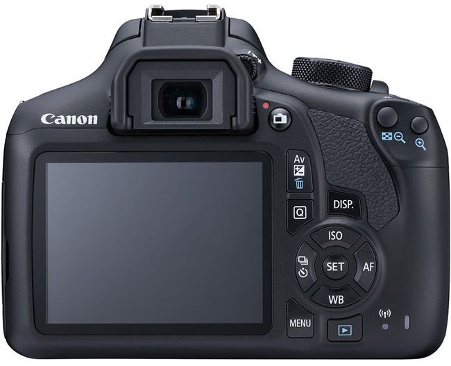 Canon EOS Rebel T6 Rear