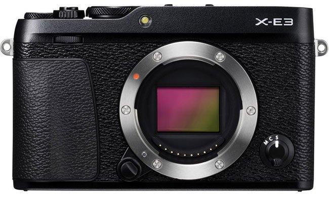 Fujifilm X-E3 Front No Lens